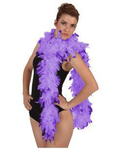 Boa Bicolor Lila Tienda de disfraces online - venta disfraces