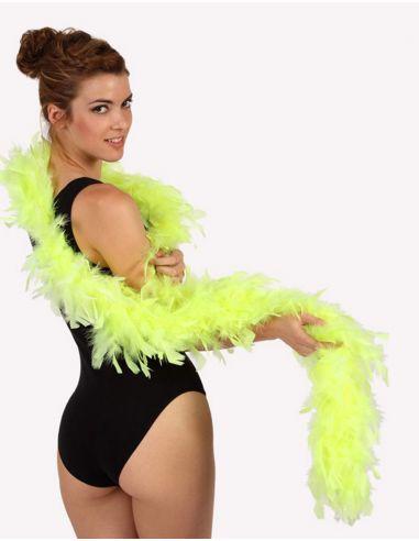 Boa Amarillo Fluor Tienda de disfraces online - venta disfraces