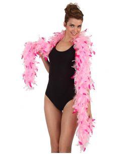 Boa Bicolor Rosa  Tienda de disfraces online - venta disfraces