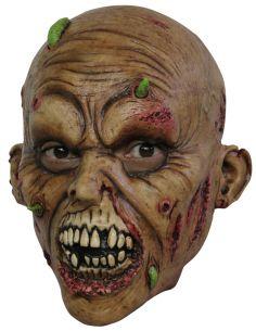 Máscara Zombie con gusanos I