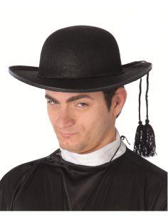 Sombrero Cura Fieltro Tienda de disfraces online - venta disfraces