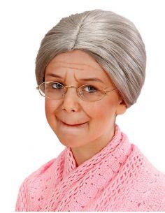 Peluca Anciana infantil Tienda de disfraces online - venta disfraces