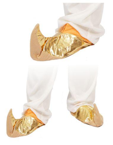 Babuchas en oro Tienda de disfraces online - venta disfraces