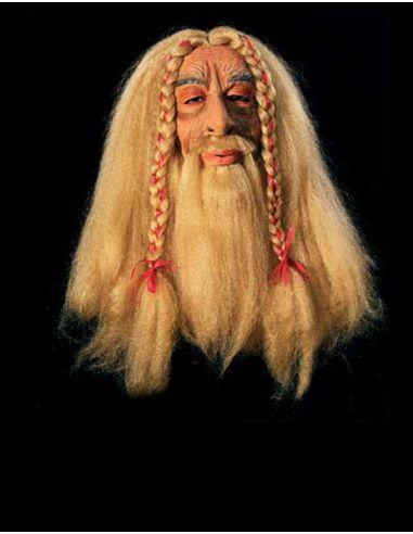 Mascara Vikingo con Pelo Tienda de disfraces online - venta disfraces