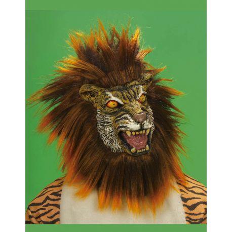 Máscara Tigre con Pelo