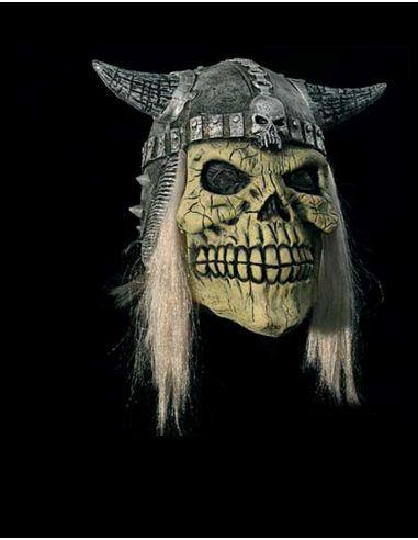 Máscara de vikingo calavera