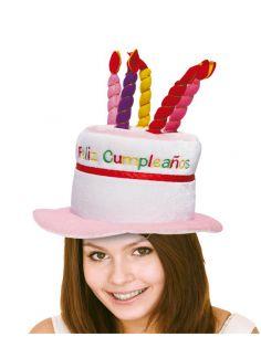 Sombrero Cumpleaños Feliz  Tienda de disfraces online - venta disfraces