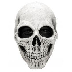 Mascara Calavera Blanca de Latex,