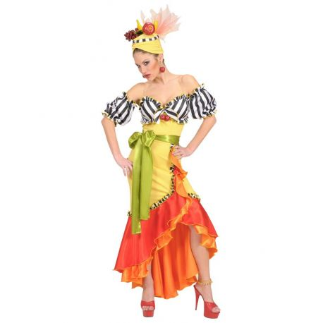 Disfraz Brasileña Miranda Talla XL Tienda de disfraces online - venta disfraces