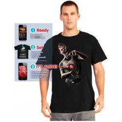 Camiseta Zombie Corazon Latiendo Morphsuit Adulto