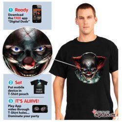 Camiseta Payaso Diabolico Morphsuit Adulto