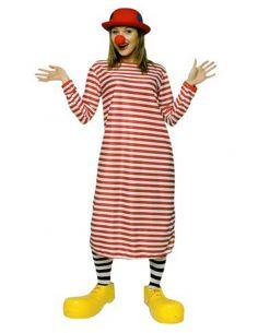 Disfraz Payaso Rayas Rojas Tienda de disfraces online - venta disfraces