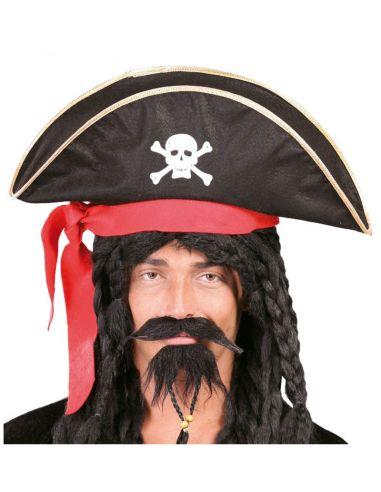 Gorro de pirata para adulto