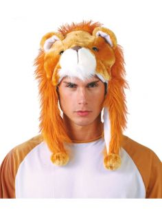 Gorro de León Adulto Tienda de disfraces online - venta disfraces