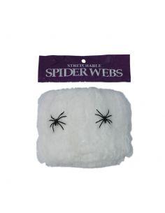 Tela araña en blanco Tienda de disfraces online - venta disfraces