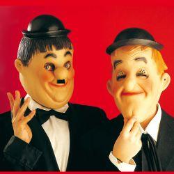 Máscaras de 2 Cómicos