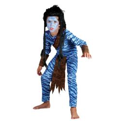 Disfraz Guerrero Jungla !Avatar! para niño