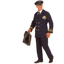 Disfraz de Piloto de Avión Talla XL Tienda de disfraces online - venta disfraces