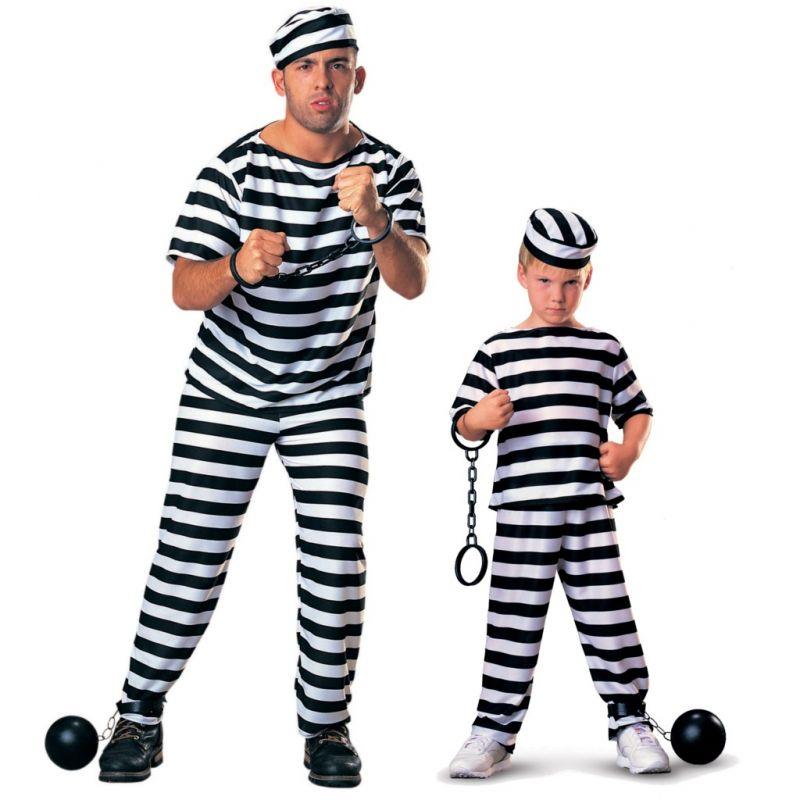 Disfraz de Prisionero - Tienda de Disfraces Online - Mercadisfraces