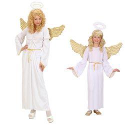 Disfraz de Angel Blanco para mujer