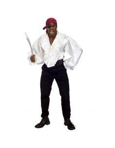 Camisa de Pirata en Satén Tienda de disfraces online - venta disfraces