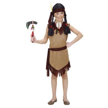 Disfraz india para niña