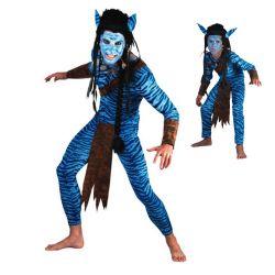 Disfraz Guerrero Jungla !Avatar! para hombre