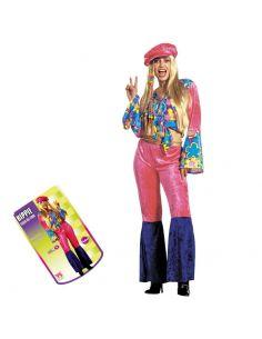 Disfraz Hippie Flores para mujer Tienda de disfraces online - venta disfraces
