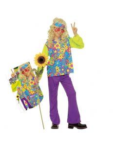 Disfraz Hippie Flores para niños Tienda de disfraces online - venta disfraces
