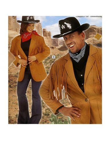 Disfraz Chaqueta Vaquero del oeste para hombre Tienda de disfraces online - venta disfraces