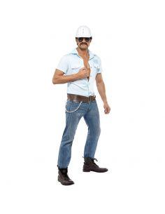 Disfraz de Obrero Village People para hombre Tienda de disfraces online - venta disfraces