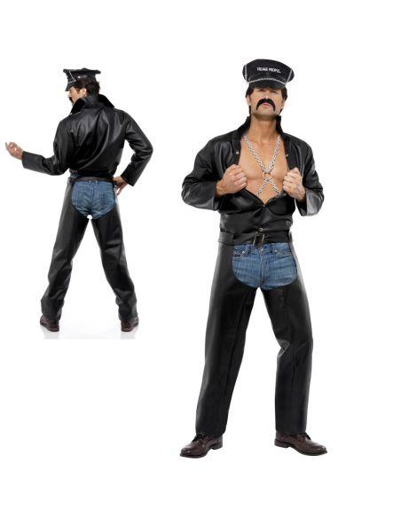 Disfraz de Motero Village People para hombre Tienda de disfraces online - venta disfraces