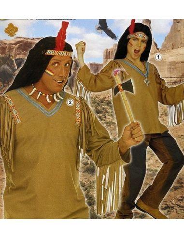 Casaca de Indio Apache Talla XL Tienda de disfraces online - venta disfraces
