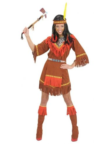 Disfraz de India Sioux Talla XL Tienda de disfraces online - venta disfraces