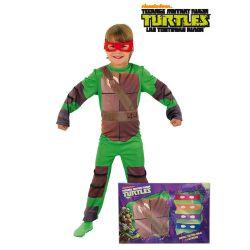 Disfraz Tortuga Ninja 4 antifaces Tienda de disfraces online - venta disfraces