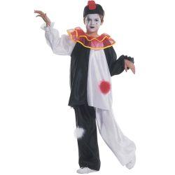 Disfraz Pierrot infantil blanco y negro Tienda de disfraces online - venta disfraces