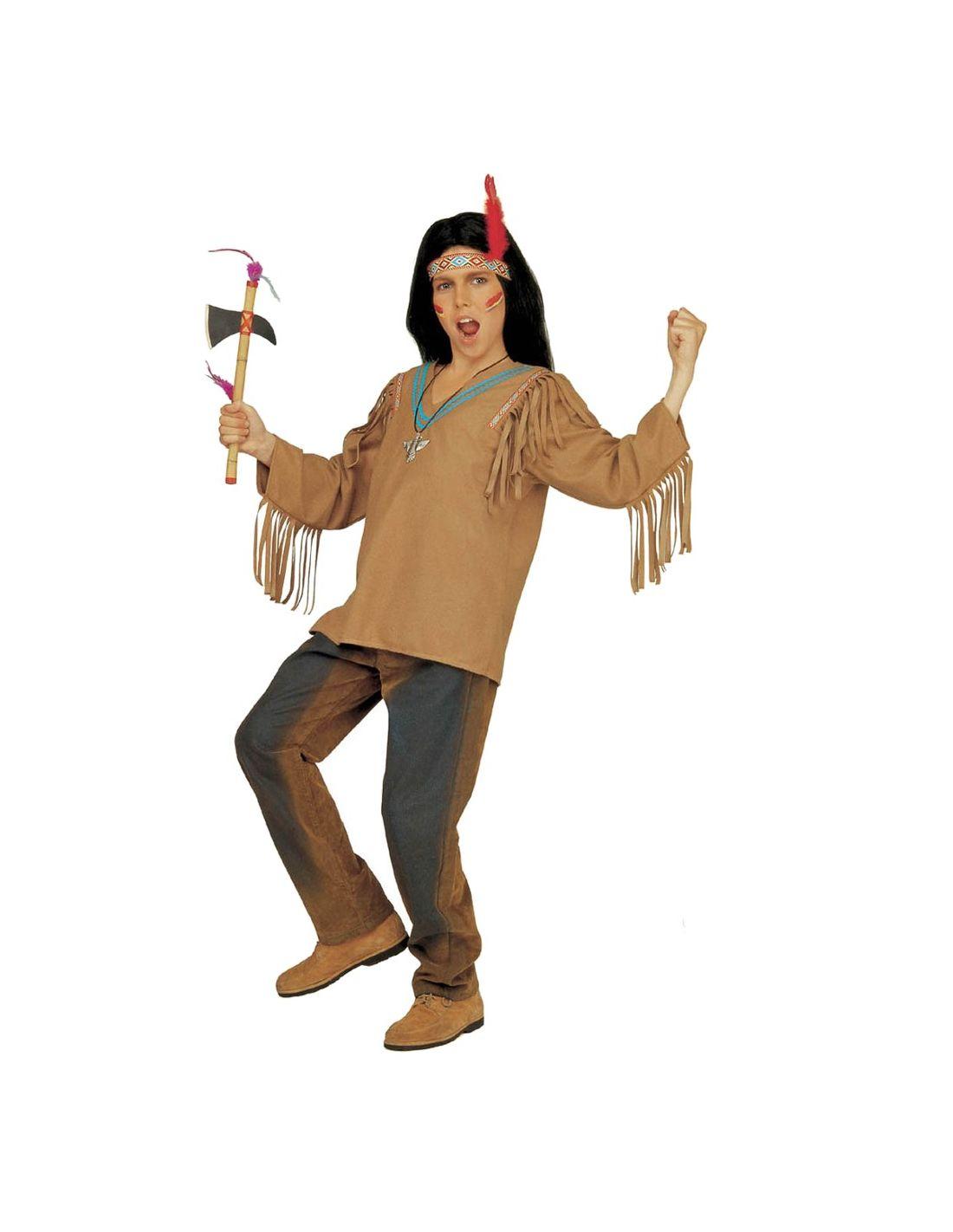 Disfraz Indio Apache Infantil Tienda De Disfraces Online Merca - Hacer-disfraz-india