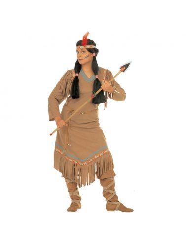 Disfraz de India Cheyenne Talla XL Tienda de disfraces online - venta disfraces