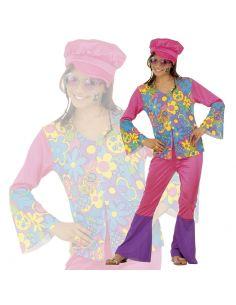 Disfraz Hippie Flores para niña Tienda de disfraces online - venta disfraces