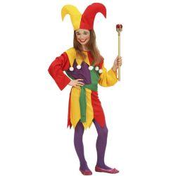 Disfraz Jolly Jester para niña