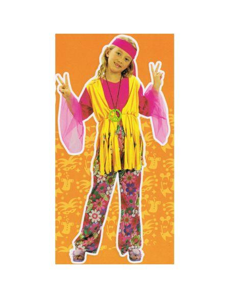 Disfraz de Hippie para niña Tienda de disfraces online - venta disfraces