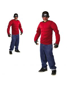 Cuerpo Musculoso en rojo para adulto Tienda de disfraces online - venta disfraces