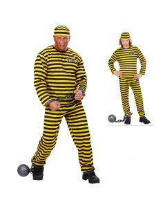 Disfraz Preso Amarillo para adulto Tienda de disfraces online - venta disfraces