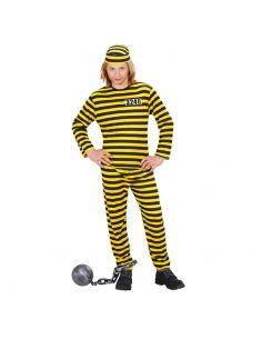 Disfraz Preso amarillo infantil  Tienda de disfraces online - venta disfraces