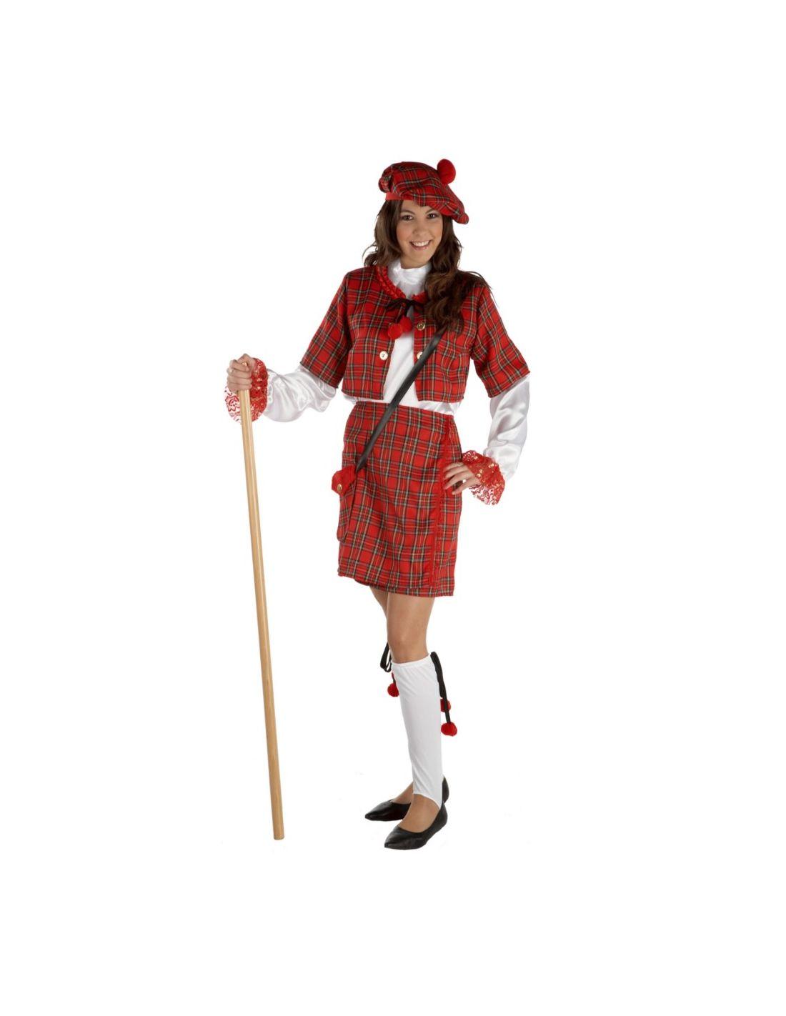 Disfraz Escocesa para mujer  44cf44f37ce