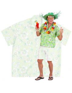 Camisa Hawaiana en verde para adulto Tienda de disfraces online - venta disfraces