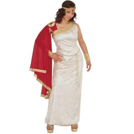 Disfraz de Emperatriz Romana Talla XL