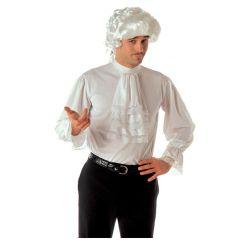 Camisa Blanca con Chorreras Talla XL