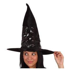 Sombrero de Bruja con Charol Tienda de disfraces online - venta disfraces