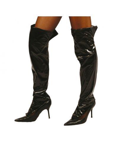 Cubrebotas Negras adulto Tienda de disfraces online - venta disfraces